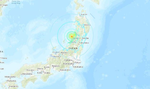 Ισχυρός σεισμός 6,8 ρίχτερ στην