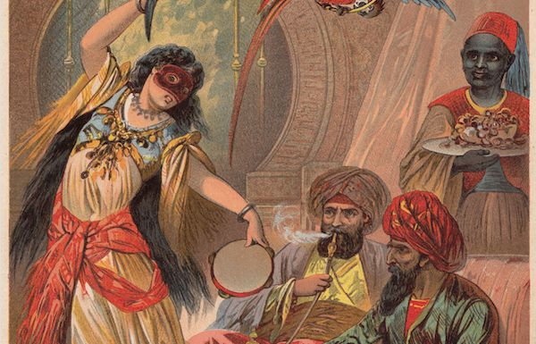 L'esclave Morjana tue le capitaine lors d'une scène de danse de