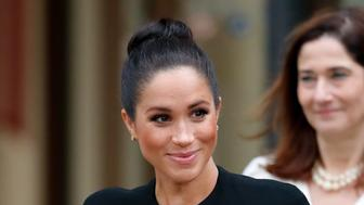 LONDON, UNITED KINGDOM - JANUARY 31: (EMBARGOED FOR PUBLICATION IN UK NEWSPAPERS UNTIL 24 HOURS AFTER CREATE DATE AND TIME) Meghan, Duchess of Sussex attends an engagement with the Association of Commonwealth Universities (ACU) at City, University of London on January 31, 2019 in London, England. The Duchess met students from the Commonwealth now studying in the UK, for whom access to university has transformed their lives. (Photo by Max Mumby/Indigo/Getty Images)
