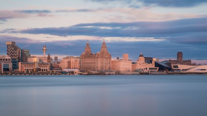 The river Mersey.