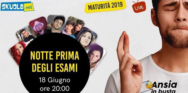 Notte prima degli esami: su Skuola.net la notte bianca aspettando la Maturità 2019