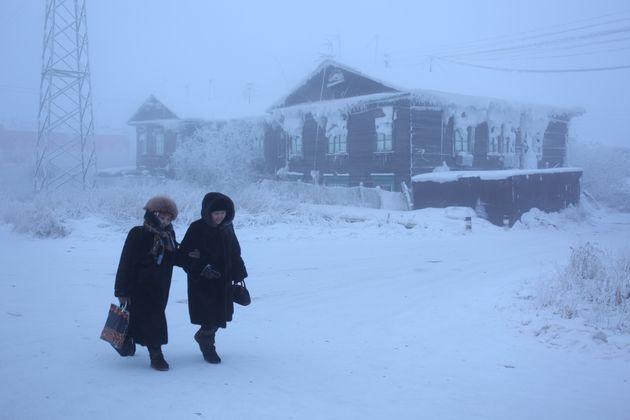 Oymyakon, en Sibérie, considérée comme la ville la plus froide du