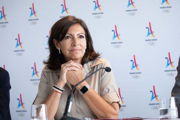 Anne Hidalgo, ici le 19 juin 2018, avant la signature de la Charte sociale des Jeux Olympiques 2024 à