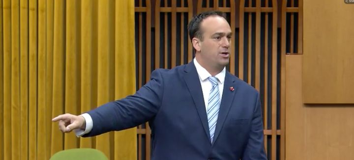 Liberal MP Mark Gerretsen is shown in the House of Commons on June 18, 2019.