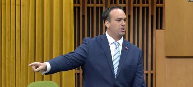 Liberal MP Mark Gerretsen is shown in the House of Commons on June 18,