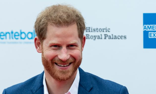 Prince Harry at the Sentebale Audi Concert at Hampton Court Palace on June