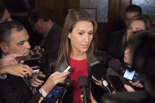 Attorney General Caroline Mulroney, whose ministry made the cuts to Legal Aid Ontario, told reporters...