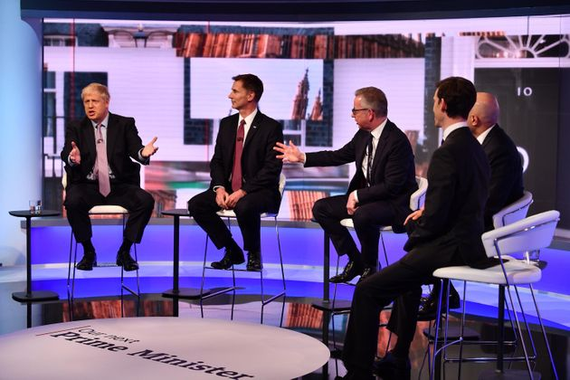 Tory Leadership Debate: The Oddest Moments From A Soul-Destroying Hour Of