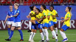 Emoção! Brasil vence Itália por 1 a 0 com gol histórico de