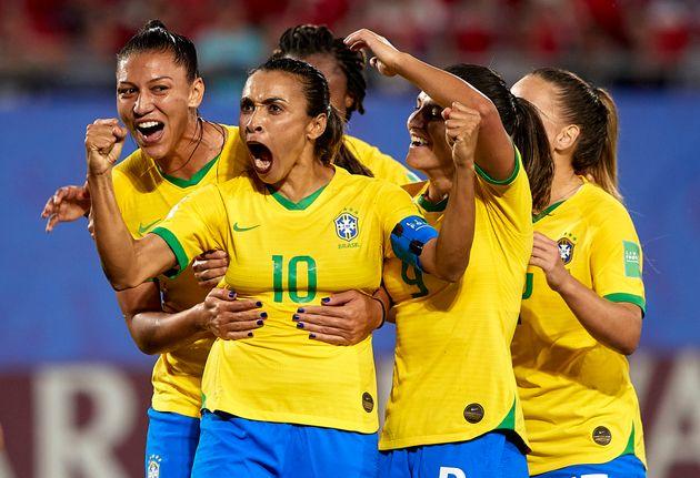 Marta é a maior artilheira da história das Copas do