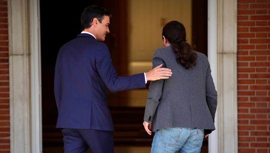Pedro Sánchez ofrece a Podemos cargos intermedios pero no