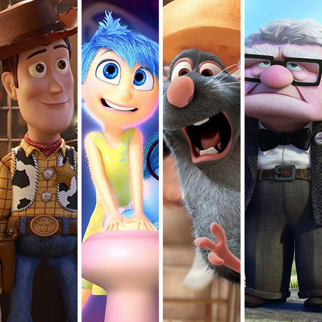 Toy Story, Divertida Mente, Ratatouille, Up... Foi bem complicado
