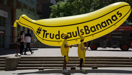 'Canada Proud' Is Paying People To Wear Banana Costumes To Protest