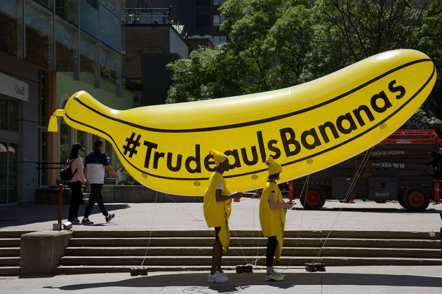 'Canada Proud' Is Paying People To Wear Banana Costumes To Protest Trudeau