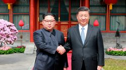 북한 방문을 하루 앞둔 시진핑이 로동신문에 기고문을