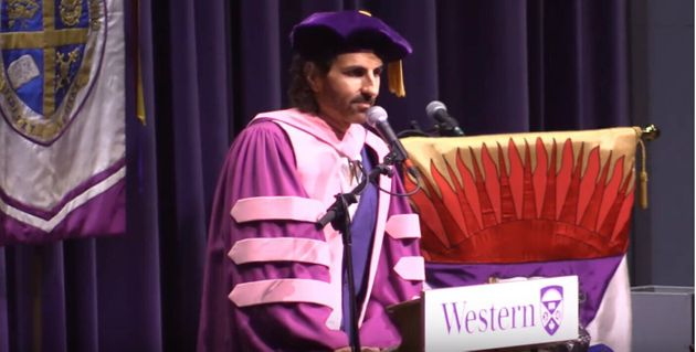 Western University Apologizes For Convocation Speaker Stephan Moccio's 'Unacceptable' Comments