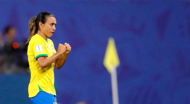 Marta bat le record de buts en Coupe du monde, hommes et femmes