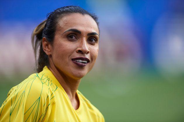 Marta bateu recorde em jogo contra a Itália nesta terça-feira (18), e se tornou a maior...