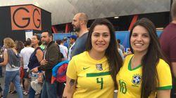 O time de brasileiras que decidiu seguir de perto todos os jogos do Brasil na Copa