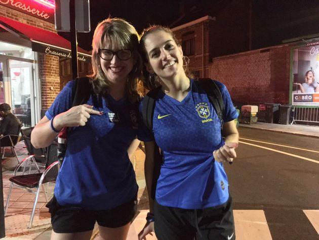 As jornalistas Marina Franco, 35 anos, eCamila Barbieri, 30 anos, já tinham o costume de...