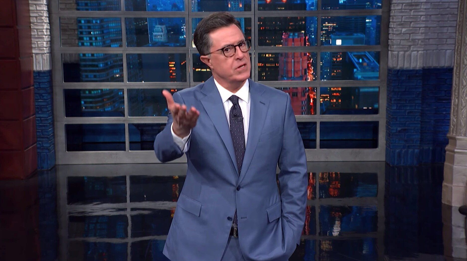 Colbert Has An Pressing Warning For Fox Information Over Its Trump Protection