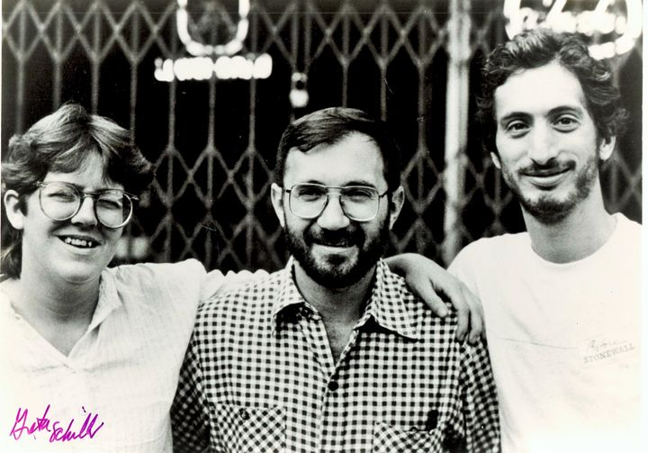 "From left: ""Before Stonewall"" director Greta Schiller, executive producer John Scagliotti and co-director Robert Ro"