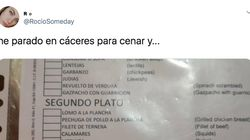 La surrealista traducción de este menú de Cáceres: cada plato es mejor que el
