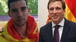Almeida recupera la idea del Madrid Olímpico y un atleta le hace la réplica más