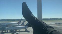 Pourquoi cette photo du pied de Bella Hadid a déclenché une