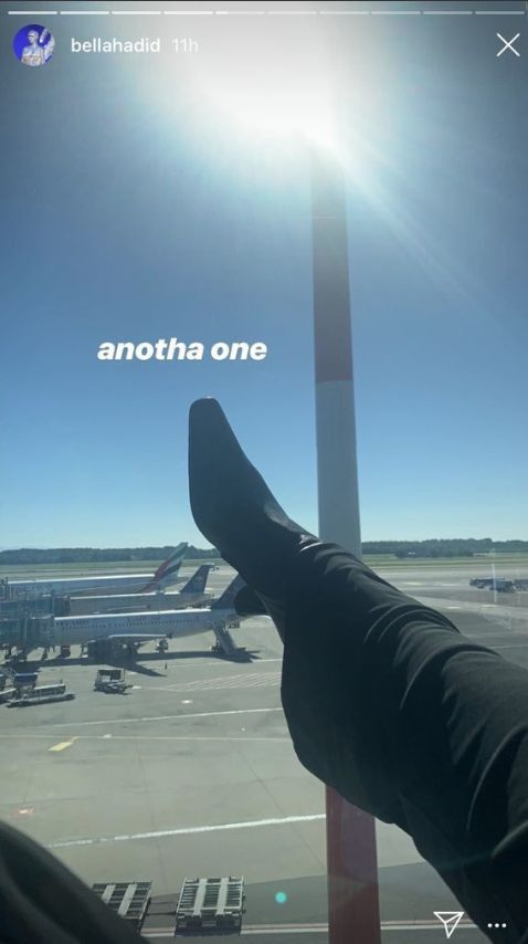 Bella Hadid s'excuse pour la photo de sa chaussure jugée