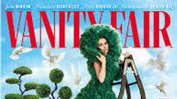 Ana Belén se mimetiza con un seto en la portada de 'Vanity Fair' y provoca multitud de