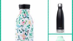 Plus écolo que les bouteilles en plastique consignées, voici 7 gourdes nomades à emporter