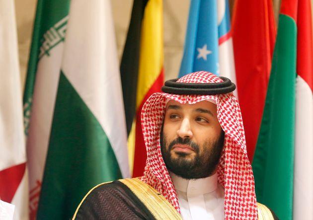 Mohamed bin Salman, el príncipe heredero, fotografiado en La Meca, durante un encuentro de la...