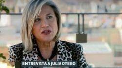 Julia Otero habla de su tenso momento con un conocido personaje televisivo: