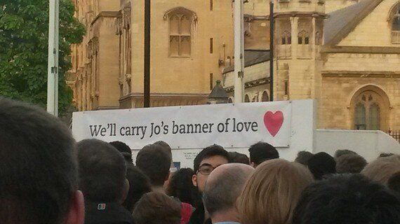 I Never Met Jo Cox, But I Wish I Had. May She Rest in Peace, And May We Carry Her Banner of