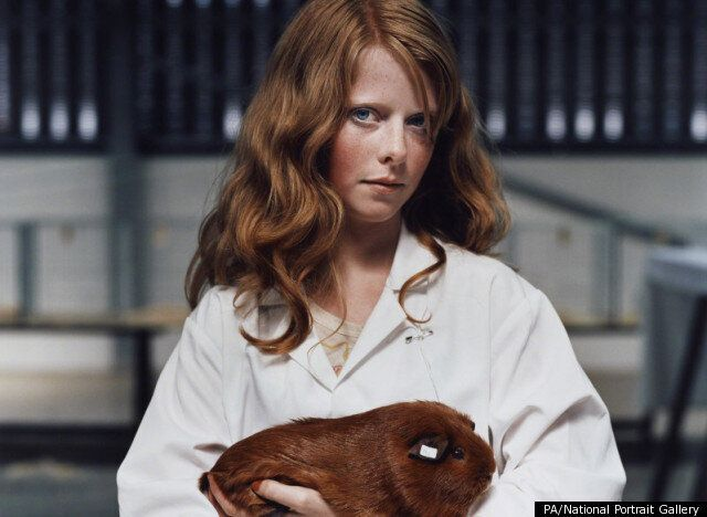 National Portrait Prize Goes To Girl And Guinea Pig Photo