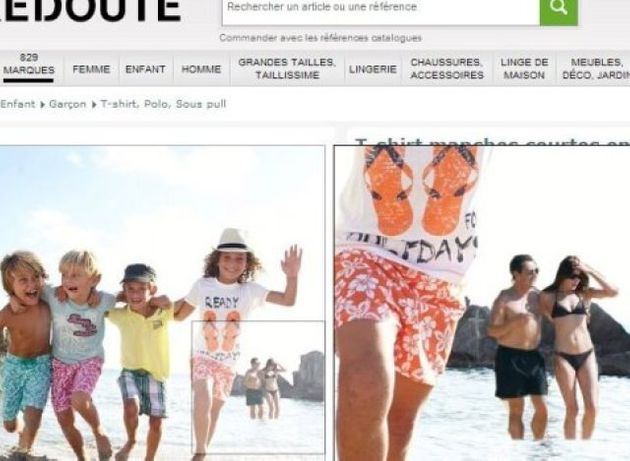 La Redoute In Naked Man Scandal After A Nude Bather Is Left In Children's Clothes