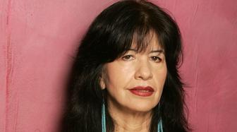 "Joy Harjo, writer during 2005 Sundance Film Festival - ""A Thousand Roads"" Portraits at HP Portrait Studio in Park City, Utah, United States. (Photo by J. Vespa/WireImage)"