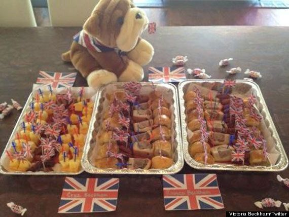 Victoria Beckham Bakes Up An Easter Storm In The Kitchen With Romeo And