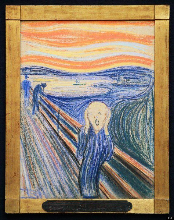 'The Scream' To Hang In Sotheby's, London Ahead Of £50m Sale In New