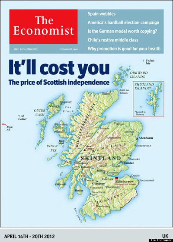 Economist Magazine Will 'Rue The Day' It Mocked Scotland, Alex Salmond