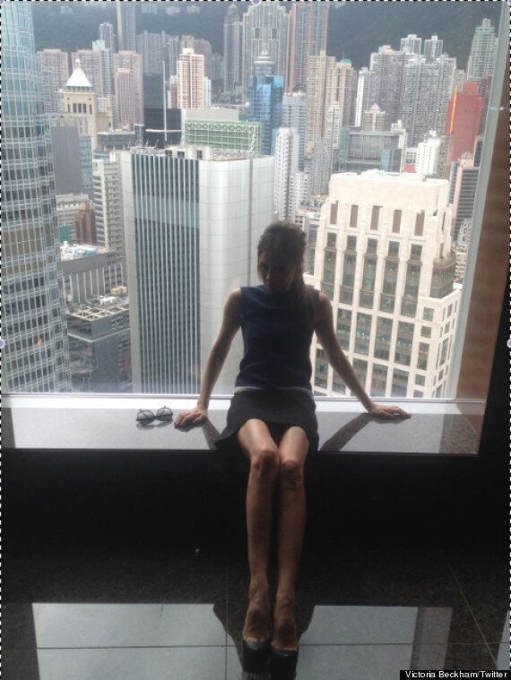 Victoria Beckham's Been Taking Her Twitter Pics On An iPhone Made Of