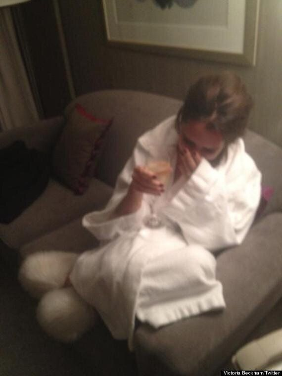 Victoria Beckham: Fashion Icon By Day, Gramps By