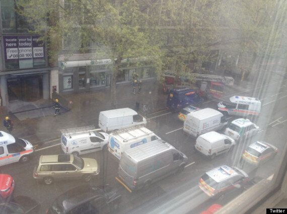 Tottenham Court Road Offices Evacuated Over 'Bomb