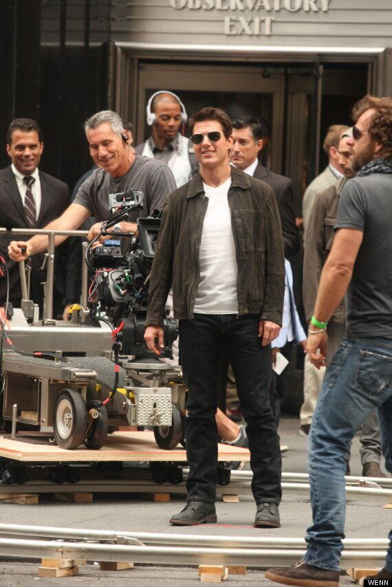 FIRST LOOK: Tom Cruise Gets To Work As Jack Reacher