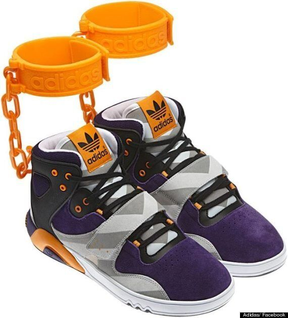 Adidas Withdraw JS Roundhouse Mids 'Slave' Shackle Trainers After Race Row