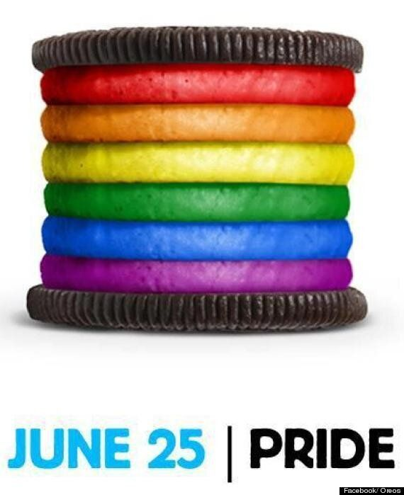 Oreo Celebrates Gay Pride With Rainbow Filling, Prompts Facebook Backlash
