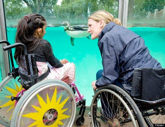 Thusha Kamaleswaran, Paralysed Schoolgirl, Receives Message Of Hope From 'Bionic' Marathoner Claire Lomas