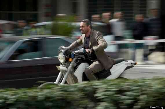 Skyfall: Daniel Craig In Action On Motorbike For Pre-Title Sequence Of 'Skyfall'