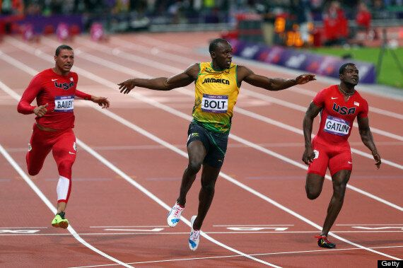 Usain Bolt Wins Gold In 100m Final At The London 2012 ...